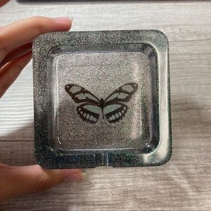 Butterfly ash tray